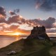 Sunset At Lindisfarne
