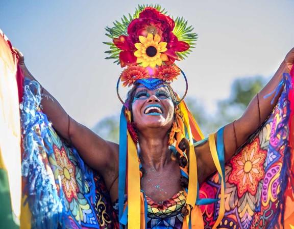bright colours of Rio de Janeiro
