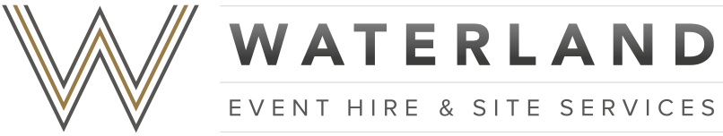 Waterland Event Hire & Site Services Logo